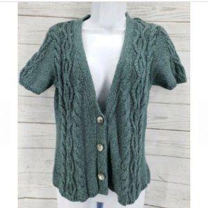 J Jill Button Down Cardigan Sweater Top XS Petite